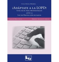 ¡Adaptate a la LOPD! (formato DUO papel + digital pdf descargable)